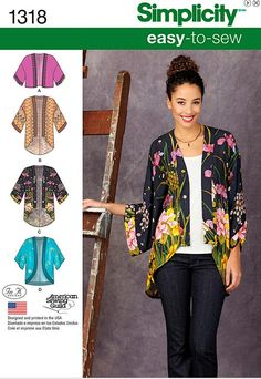 Kimono style jackets are hot this fall. They are popping up everywhere.             Rhonda even showcased her version  two years ago. Yes...