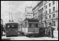 Old Photographs, Old Photos, Vintage Photos, Public Transport, Athens, Transportation, Greece, The Past, Street View