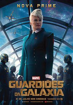 Confira os novos pôsteres individuais de Guardiões da Galáxia ~ SuperVault #Marvel #Poster