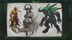 WoW: Demon Hunter Concept Artwork