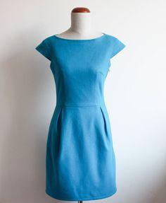 szycie sukienki, blog o szyciu, szycie na maszynie, szycie ubran, wykroje burda