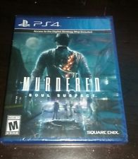 Murdered: Soul Suspect (Sony PlayStation 4, 2014) Free Shipping!