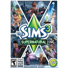 Sims 3 Supernatural (PC/ Mac) - Walmart.com