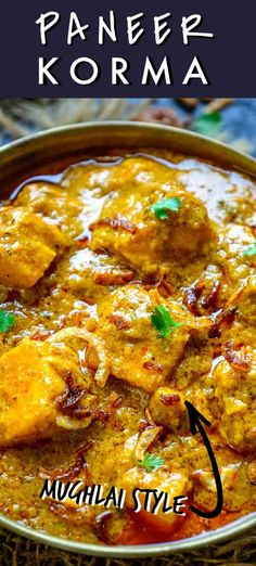 Paneer Korma is a Mughlai style Paneer dish where paneer cubes are cooked in a rich onion based gravy. This Indian curry is rich and creamy and goes well with breads. Here is how to make Paneer Shahi Korma recipe. Korma, Style, Swag, Stylus