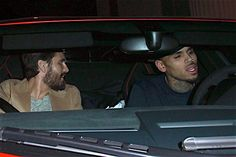 Scott Disick and Chris Brown's Burgeoning Bromance Leads Today's Star Sightings