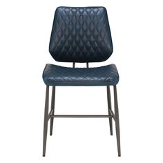 Hawley Quilted Dining Chair, Dark Blue - Barker & Stonehouse Metal Dining Chairs, Table And Chairs, Dining Room, Chess Board Table, Reclaimed Wood Bars, Vintage Diner, Barker And Stonehouse, Wood Bookshelves, Wood Bar Stools