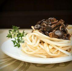 Espaguete 'Fitness' de Palmito e Cogumelo (100 Calorias) - Blog do Bom Gosto