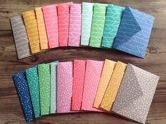handmade envelopes, set of 10 envelopes, envelopes, bright envelopes, stationery, 2 designs by PinkyPromiseBargains on Etsy