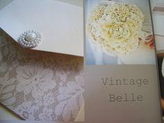 Vintage Belle invitation