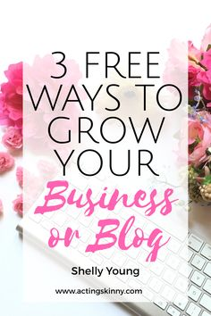 When I launched my business Acting Skinny last year as a homeschooling mom of 4, I had no earthly idea what I was doing.  I had owned a business before, but how was I to grow my business beyond my …
