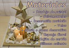 Ideas para Navidad. 2 estilos de centros de mesa navideños   Manualidades