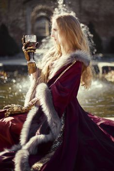 Fine Art Photography, Portrait Photography, Fashion Photography, Queen Cersei, Fantasy Queen, Medieval Princess, Queen Aesthetic, Medieval Fantasy, Character Inspiration