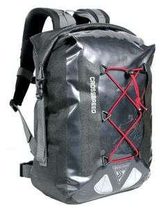 Seattle Sports Company CrossBreed Dry Pack 1500 Backpack: PVC-free backpack offers waterproof storage made of durable, 600-dernier urethane-coated poly and featuring a three-roll closure system, making it ideal for hiking and biking in rainy conditions or for water activities like canoeing. For your comfort, has been designed with a super-cooling air-flow back panel and ergonomic shoulder straps. The pack offers 1,500 cu. in. of waterproof storage space, and weighs 2 lbs. $89.95