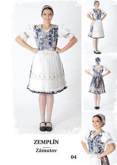 Zemplín, SK Folk Costume, Costumes, Czech Republic, Homeland, Folklore, Montessori, History, Fashion, Folk Dance