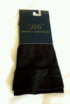Brooks Brothers Trouser Socks Black One Size Fits All #brooksbrothers #Dress