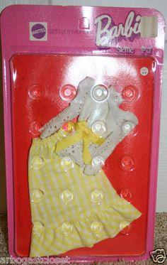 Barbie Doll Mod Formal Dress 3205 Steffie PJ 1972 Mattel Best Buy Fashions | eBay