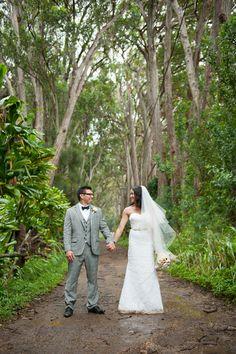 Elegant Ranch Wedding { Oahu } - Modern Weddings Hawaii : Bridal Inspiration