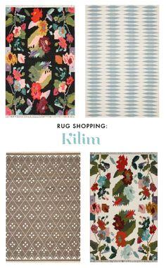 Rug shopping: Kilim rugs