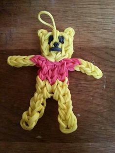 Whinnie the pooh rainbow loom
