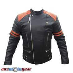 Men's stylish jackets really are a vital component to every single man's set of clothing. Men will need jackets for assorted activities and several weather conditions. Men's Jacket Fashion Look. Mens Leather Bomber Jacket, Motorcycle Leather, Leather Men, Leather Jackets, Cowhide Leather, Black Leather, Biker Jackets, Men's Jackets, Stylish Jackets