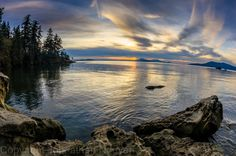 Bellingham Washington.. I believe this is at Larabee State Park