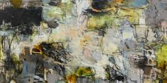 "SHOUTING AT THE SUN by Krista Harris 36""x72"""