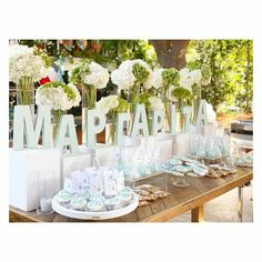 Baptism Decorations, Table Decorations, Furniture, Home Decor, Decoration Home, Room Decor, Home Furnishings, Home Interior Design, Dinner Table Decorations