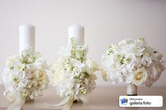 Wedding Decorations, Table Decorations, Flower Bouquet Wedding, Communion, Holi, Candle Holders, Candles, Bride, Bottle Art