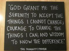 The Serenity Prayer (2). $50.00, via Etsy.