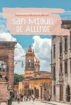 A thorough guide to the best places to eat in San Miguel de Allende in Mexico. Whether you're visiting to sample Mexico's wine region, to explore coloful colonial buildings, or to get a taste of Mexico's cultural heritage, this foodies guide will take you through some of the best places to have breakfast, lunch, dinner, or simply cool spots to grab a snack or a drink on all budgets (don't forget the churros!) #Mexico #SanMiguel #SanMigueldeAllende #Guanajuato #Travel #TravelMexico #Getaway