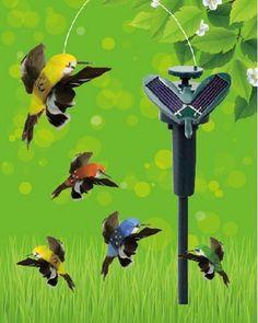 Güneş Enerjili Uçan Kuş - Solar Hummingbird Ürün Kodu : V56YT3031 12.90 TL