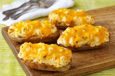 Easy Restaurant-Style Baked Potatoes Recipe - Kraft Recipes