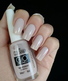 Amazing Tips For The Best Summer Nails – Page 1286927471 – NaiLovely Great Nails, Fabulous Nails, Nude Nails, Manicure And Pedicure, Elegant Nails, Beautiful Nail Designs, Nail Polish Colors, Color Nails, Almond Nails