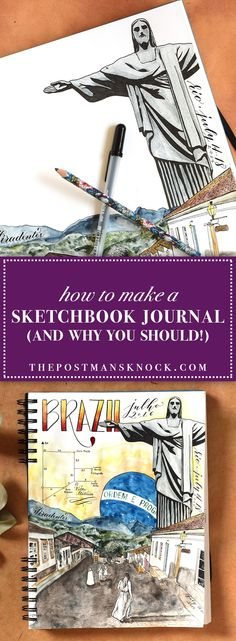 How to Make a Sketchbook Journal (and Why You Should!)