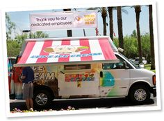 Leos Ice Cream Van