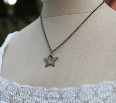 This star represents the light within you that guides you every day. :: Soul Mantra necklace