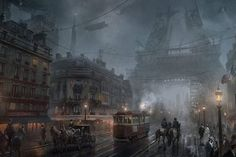Steampunk Paris
