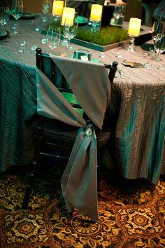 Modern chair tie