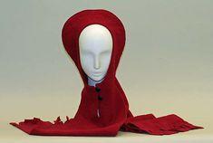 Hat Designer: Pierre Cardin (French, born San Biagio di Callalta, Italy, 1922) Date: ca. 1970 Culture: French Medium: wool Dimensions: Height: 41 in. (104.1 cm)