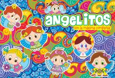 ANGELITOS Digital Scrapbooking, Religion, Mary, Mexican, Kids Rugs, Cute, Angeles, Simple Pencil Drawings, Decorated Binders