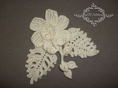 Hey, I found this really awesome Etsy listing at https://www.etsy.com/ru/listing/487095289/crochet-flowers-jewelry-broch-textile