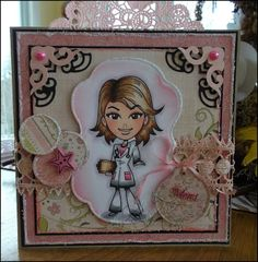 Handmade Cards (Scrapbooking) - Kenny K Image - Hot Doctor