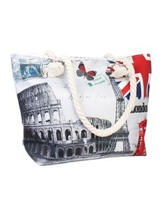 Beach Tote Bags, Purses And Bags, Handle, Europe, Closure, Zip, Canvas, Best Deals, Shoulder