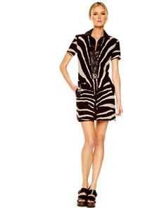 Michael Kors Oversized Zebra-Print Shirtdress                                                                                                                                                                             2295.00
