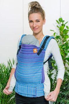 481f6c94fd Half Toddler Wrap Conversion Carrier - Sonder Light Blue Weft 1 Wanting A  Baby