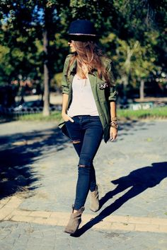 24 Amazing Street Style Outfit Ideas ‹ ALL FOR FASHION DESIGN
