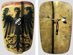German hand pavise, late 15th century, Kunsthistorisches Museum, Wien