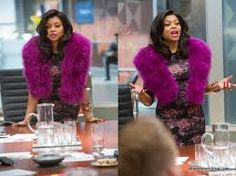 Cookie Lyon Costume Inspiration - Purple Fur Stole