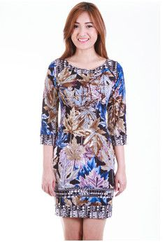 Amaranta Floral Shift Dress