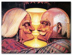 Mexikanisches Paar (Kippbild)